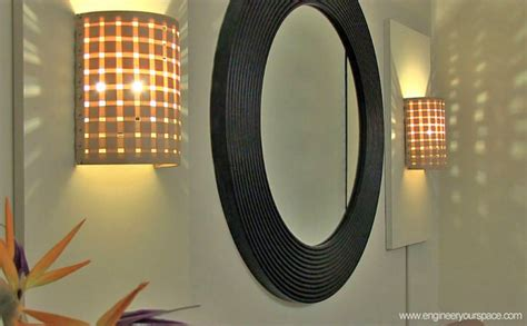 diy wall sconce diy sconce lights decorating your small space