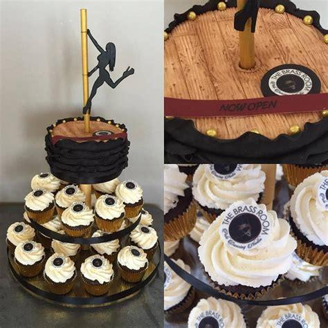 mel bedford pole dance cake