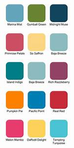 Stampin' Up! Color Combinations for Summer - Ink It Up