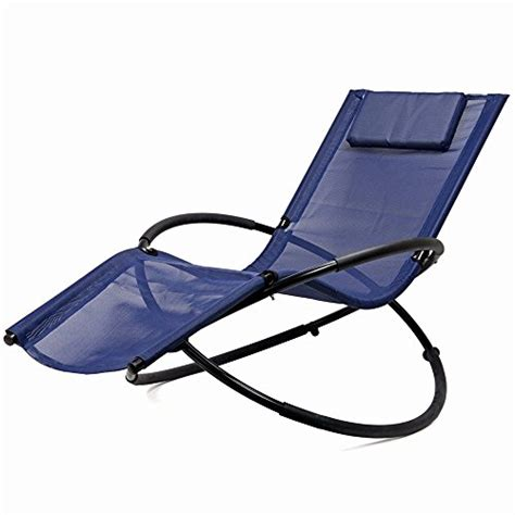 zero gravity folding orbit chair patio lounger reclining