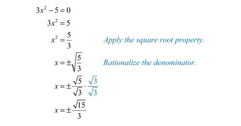 Solve Equation By Taking Square Roots Calculator Tessshebaylo