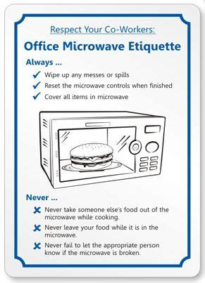 funny office etiquette rules   Google Search   Creative