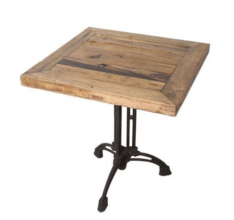 commande cuisine en ligne table carrée industrielle 70 cm