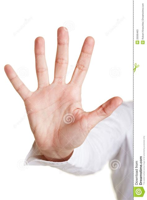 Five Fingers by Five Fingers Of A Stock Image Image Of Listing