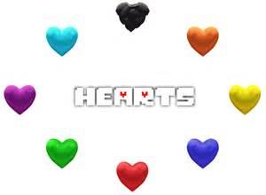 Undertale Soul Transparent Hearts