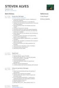 resume for production manager in garment produktionsleiter cv beispiel visualcv lebenslauf muster datenbank