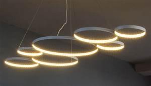 Luminaire Design Led : suspension ultra8 led 180 x 50 cm blanc le deun ~ Teatrodelosmanantiales.com Idées de Décoration