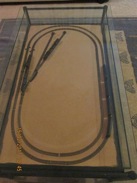 daves suspended layout model railroad layouts
