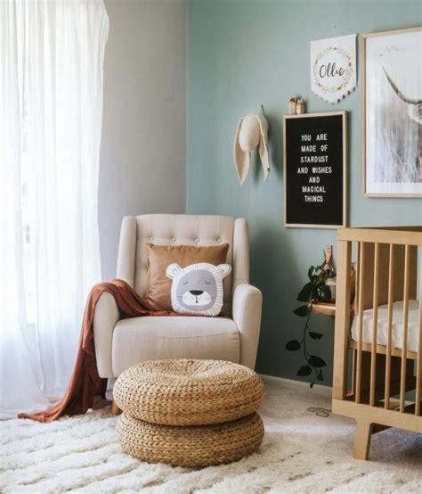 The cutest nursery wall decor for $50 or less. Boho Scandinavian Boy's Nursery #boynursery #babyboynursery #ideas #nurseryideas #boy # ...