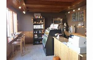 We opened a brand new coffee shop in a REALLY small space ...