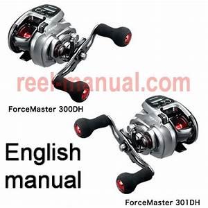 Shimano 2015 Forcemaster 301dh Download Original User