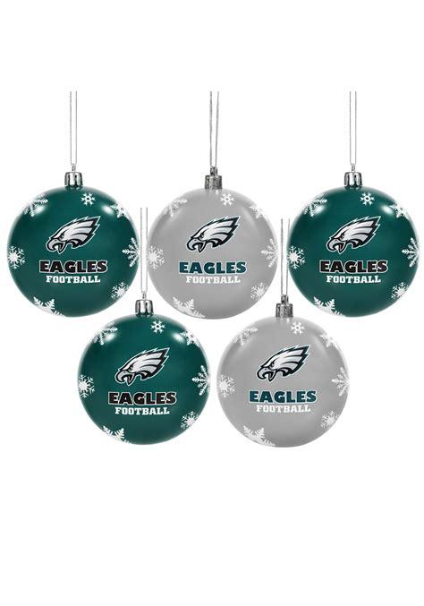 nfl philadelphia eagles ornament set