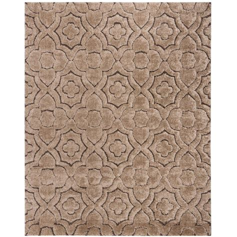 Brown Shag Area Rug by Safavieh Shag Brown Beige 8 Ft X 10 Ft Area Rug