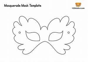 Free Printable Masquerade Masks Template