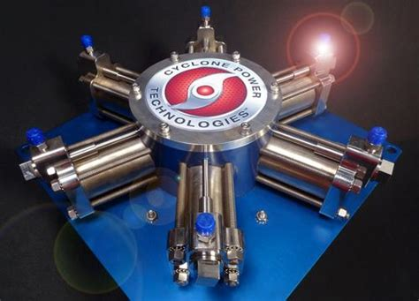 waste heat engine maker cyclone power setting