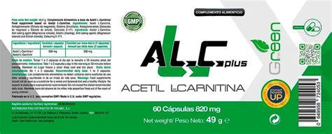alc  acetil  carnitina  caps   green