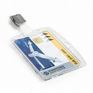 Boite De Sécurité : durable bo te de 25 porte badges de s curit avec clip pour 1 carte badge et porte nom durable ~ Medecine-chirurgie-esthetiques.com Avis de Voitures