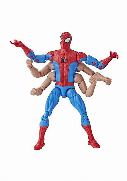 Action Spider Marvel Figure Legends Arm Six