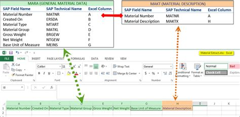 mara table in sap pseudo table join multiple table extraction of two sap