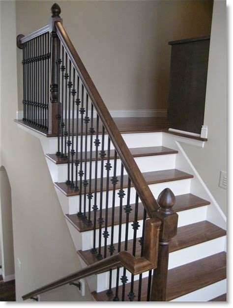 Images Of Banisters by Wood Species Cherry Treads Stringers