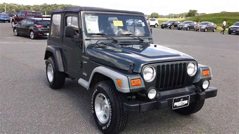 Cheap Used Jeep Wrangler For Sale Maryland N300387a