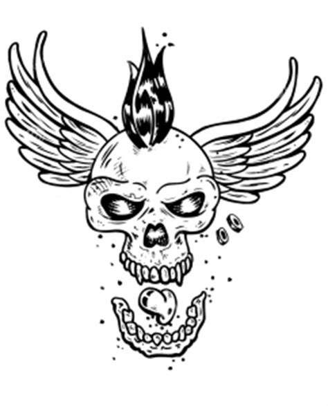 Tattoos Coloring Pages For Adults Page