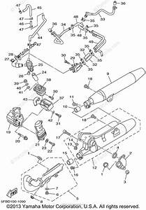 Yamaha Motorcycle 2001 Oem Parts Diagram For Exhaust