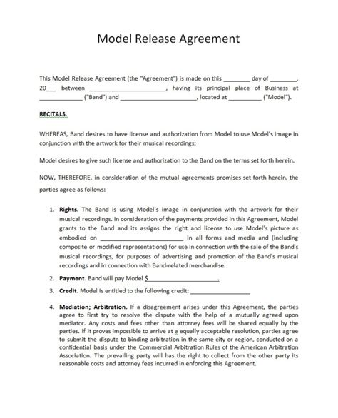 record label agreements