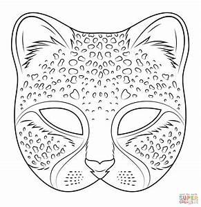 Masques Masque De Chat Colorier Page 2