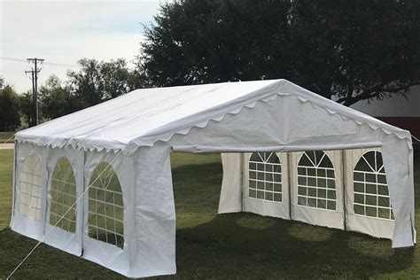 budget tent gazebo pe canopy waterproof top