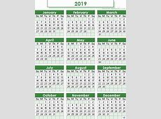 Kalender 2019 kuda 1 2019 2018 Calendar Printable with