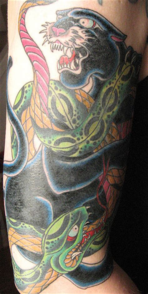 panther tattoo images designs