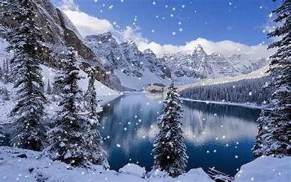 Animated Wallpapers Snow Desktop Walpepar Winter Background