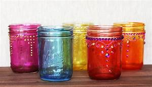how to make beautiful decorative diy holiday mason jars With what kind of paint to use on kitchen cabinets for mason jars candle holder