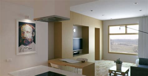 Small Apartment With Foldaway Features by Interior Design Home Decor Furniture Furnishings