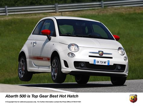 Top Gear Fiat Abarth by Abarth 500 Roars Away With Top Gear Award Press