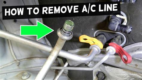 remove ac   car ac  disconnect tool
