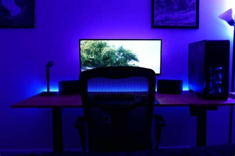 desk with led lights diy led lighting for your desk hi i 39 m ethan thompson