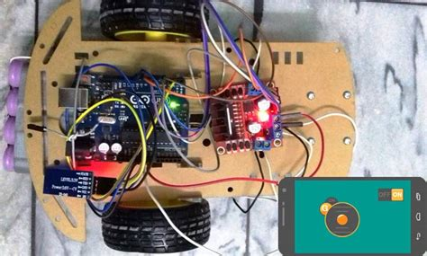 phone controlled robot mobile phone controlled robot car using g sensor and arduino