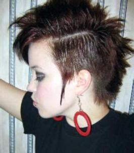 pictures punk girl hairstyles  boy cut