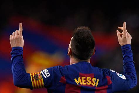 Lionel Messi equals Cristiano Ronaldo record as Barcelona ...
