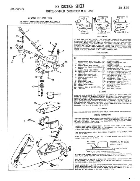 Ford Tractor Carb Parts Diagram Auto Wiring