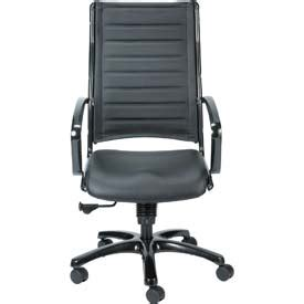 chairs leather upholstered europa executive high back