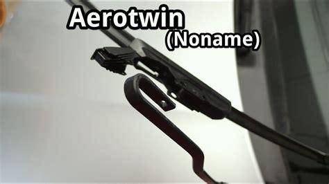 scheibenwischer wechseln noname aerotwin youtube