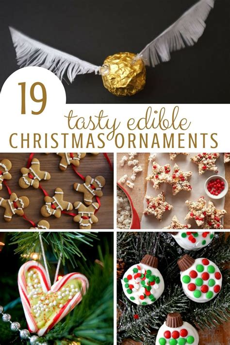 edible christmas ornaments red ted art s blog
