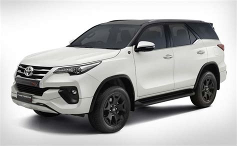 2019 toyota fortuner 2019 toyota fortuner trd celebratory edition launched in