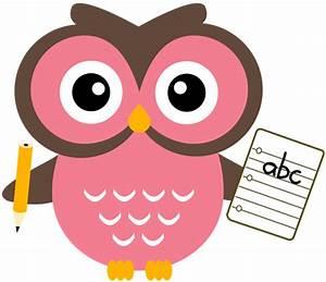 School Owl Clipart