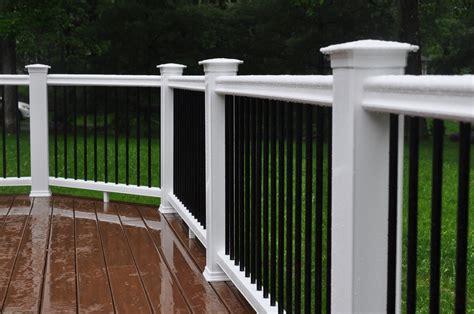 decks com deck railing height