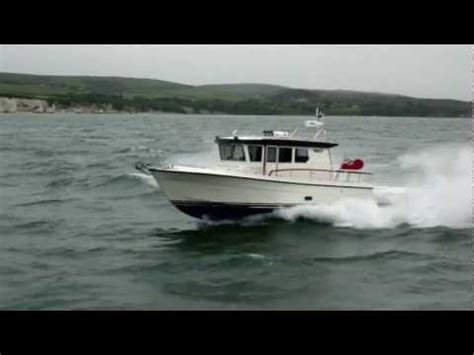 Brighton Fishing Boat Accident by Ocqueteau 645 Motor Boat Leaves Guernsey Harbour Doovi