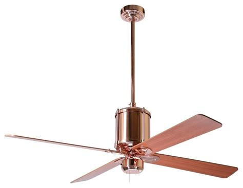 52 quot industry polished copper ceiling fan traditional